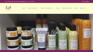 L&A Hair and Beauty Website