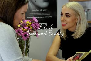 L and A Hair and Beauty Website